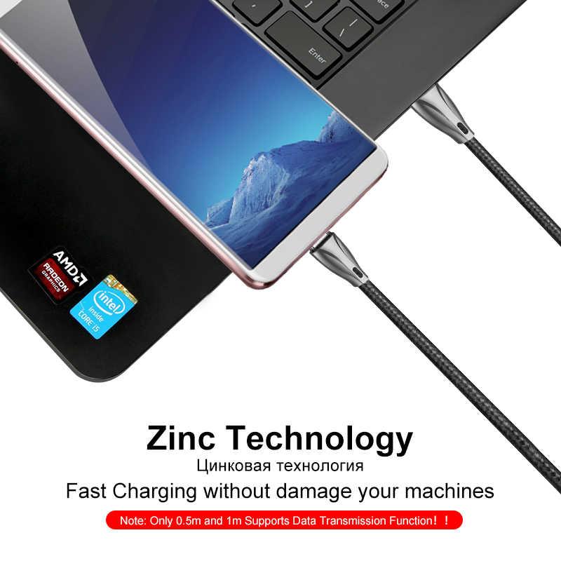 Coolreall Usb タイプ C ケーブル急速充電器 USB C にタイプ C ケーブルサムスンギャラクシー S9 Xiaomi mi6 Oneplus タイプ C ケーブル