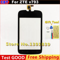 100% New Original LCFP035681 Touch Screen Digitizer For ZTE v793+  screen Touch Black + Tool+Free Shipping