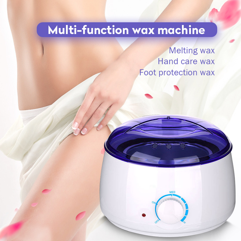 Electric Hot Wax Heater Waxing Machine For Hair Removal Beauty Salon Hand Epilator Feet Paraffin Mini Spa Wax Machine