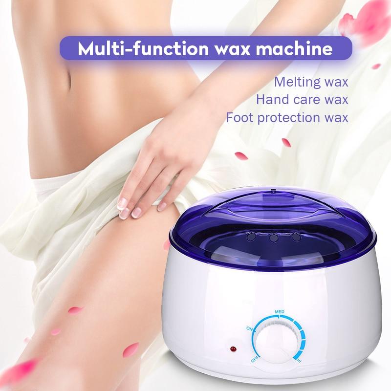 Electric Hot Wax Heater Waxing Machine For Hair Removal Beauty Salon Hand Epilator Feet Paraffin Mini Spa Wax Machine