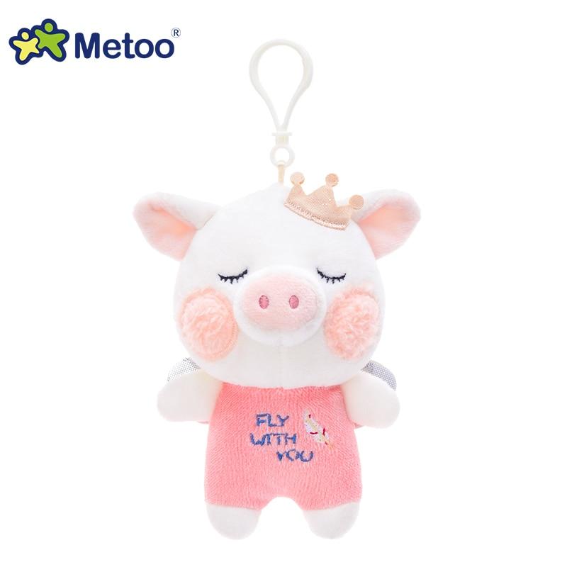 元气猪宝吊饰-天使粉