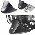 Matte Black Fairing Bottom Mudguard Cover Set Fits For Harley Sportster XL 883 1200