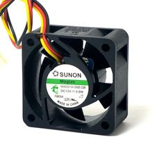 цена на Sunon Maglev Fan HA40201V4-D000-C99  DC12V  0.6w 4020 40 40*40*20MM F  server inverter power supply axial cooling fans 3pin