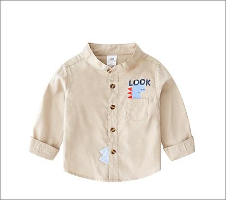 2 3 4 5 6 7 Jahre Junge Shirt Baumwolle Plaid Langarm Kinder Kleidung Frühling Herbst Casual Tops Baby Tees Kleidung Kleinkind Junge Hemd