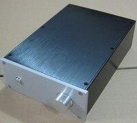 High quality aluminum Power amplifier Enclosure Case DIY Final version