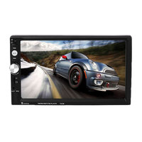 2017 12V 7023B Car Auto 7 Inches HD Touch Screen DVD Player Bluetooth With Remote