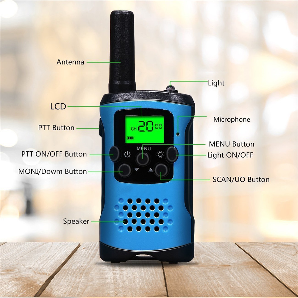 Image 2 - 2Pcs Two Way Radio Kids Mini Walkie Talkie Radio for Motorola Comunicador Amador Children's outdoor self driving talkie walkie-in Walkie Talkie from Cellphones & Telecommunications