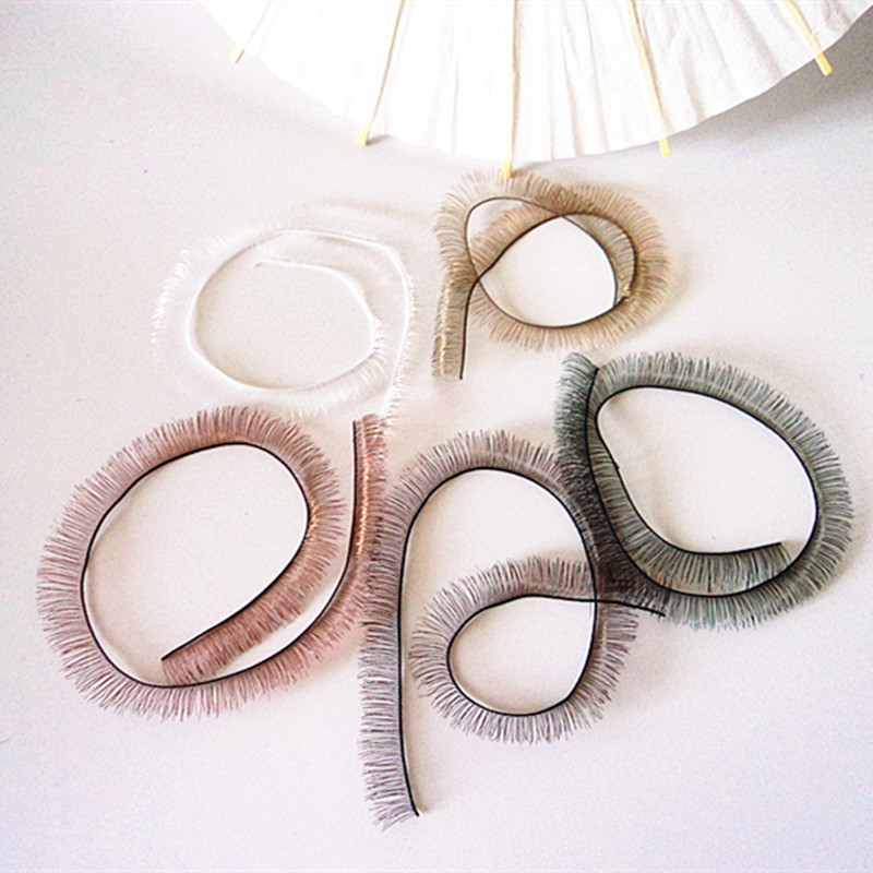 Doll Accessories Doll Eyelash 8mm Width 5 Colors