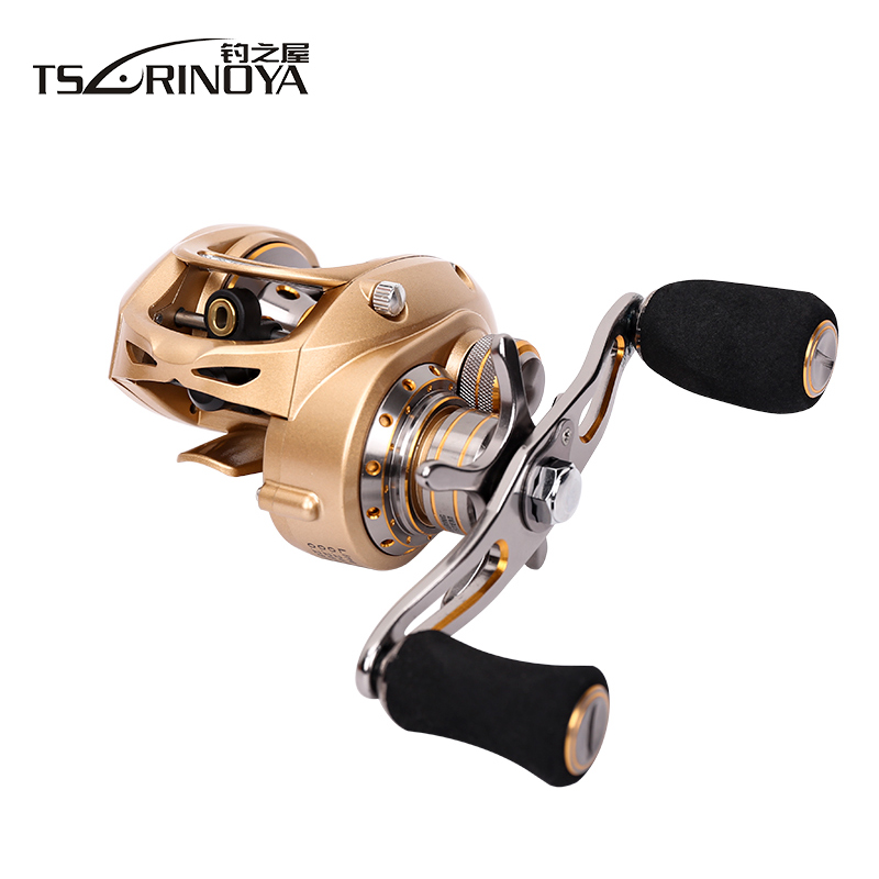 TSURINOYA EX-150 Right or Left Hand Baitcasting Reel 10BBs 7.0:1 Bait Casting Fishing Reel Magnetic and Centrifugal Dual Brake цена