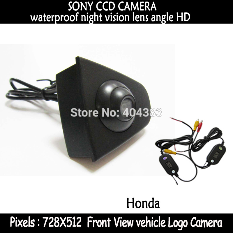 wireless SONY CCD Waterproof Car Rear View Camera Car Reverse Front Camera for honda Odyssey New accord CRV Spirior Crosstour for sony ccd honda odyssey city new accord civic crv crosstour spirior car front logo camera security for gps