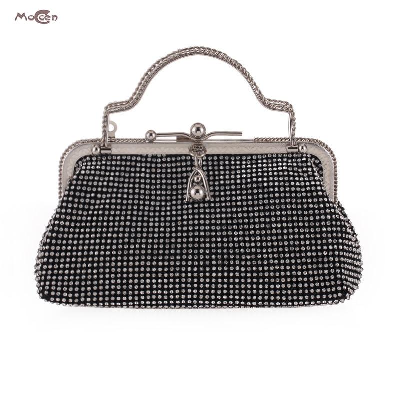 Moccen Hasp Beaded Clutch Evening Handbag Luxury Bag Women Handbags Ladies Hand Bags Designer Handbags High