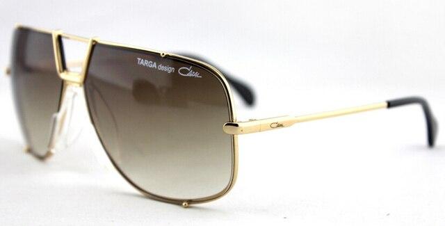 2a6266d32ffa6 NEW AUTHENTIC CAZAL LEGENDS 902 49 Black Gray Aviator Shield Sunglasses
