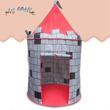 Portable Foldable Tipi Prince Folding Tent Children Castle wall yurts tents Play House Kids Gifts Outdoor Tent