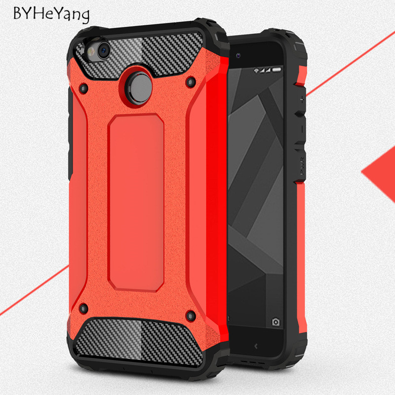 new concept 340c9 da449 Phone Case for Xiaomi redmi 4x case with Stand Hard Rugged Impact for  Xiaomi redmi4X redmi 4 X Case Mobile Phone Accessories-in Fitted Cases from  ...