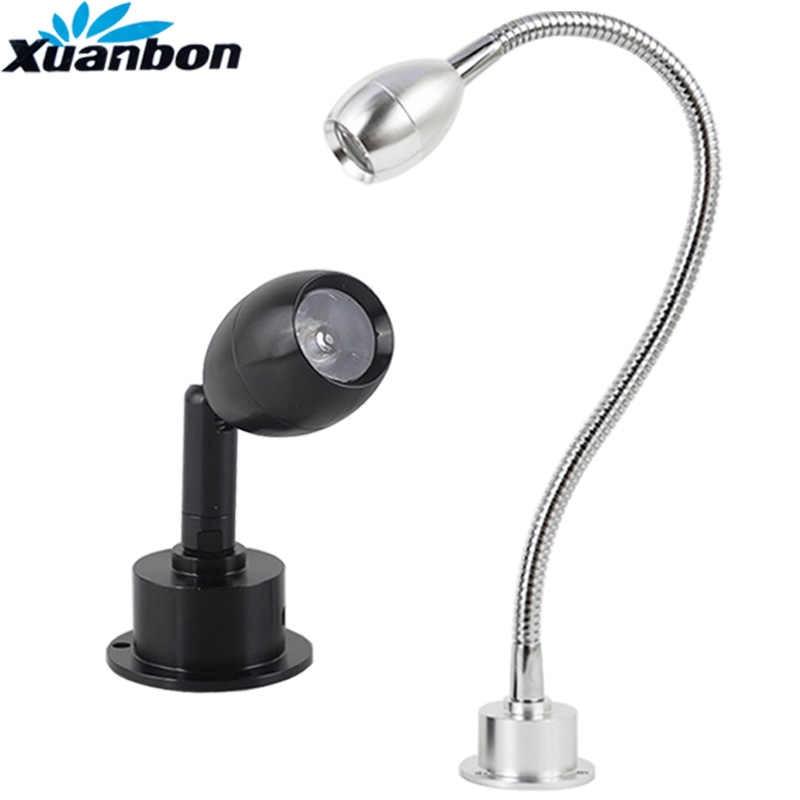Современный светодиодный наконечник гибкий настенный светильник 1 Вт 3 Вт зеркало для ванной со светодиодной подсветкой прикроватная лампа для чтения бра светодиодный светильник лампы AC110V 220 V