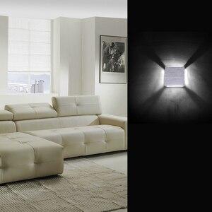 Image 5 - 3 واط LED درج الإضاءة مربع مصابيح الحائط ضئيلة راحة مع محرك شعاع واحد emissioninside خطوة ضوء 4 قطعة/الوحدة