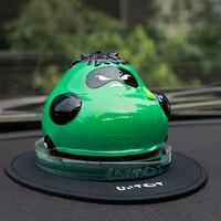 Car Air Freshener Panda Monk Auto Perfume Seat Scent Odor Diffuser Automobiles Interior Fragrance Smell Freshener Accessories