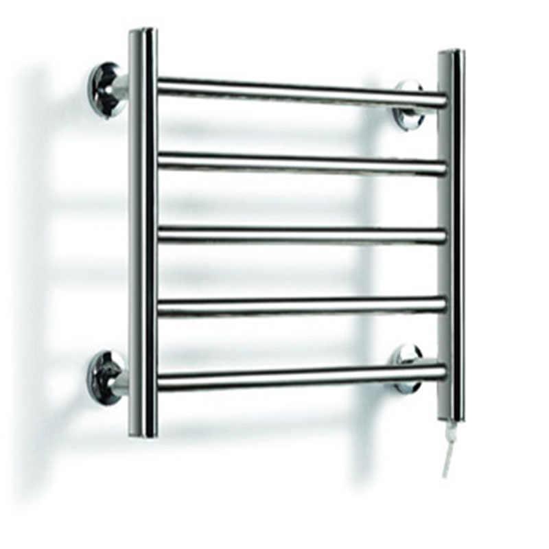 Porte-serviettes en acier inoxydable 304 | Sèche-serviettes à cinq couches, électrique mural, pour la salle de bain