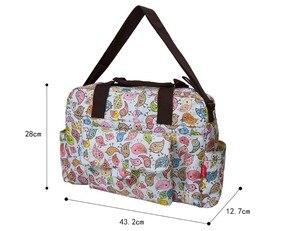 Image 5 - Mommore 5 pièces/ensemble Nappy sacs comprend sac à langer matelas à langer sac de maternité momie transparent sac de poussette bébé étanche