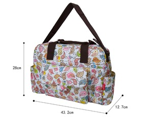 Image 5 - mommore 5pcs/set Nappy Bags Includes Diaper Bag Changing Pad Transparen Mummy Maternity Bag Waterproof Baby Stroller Bag