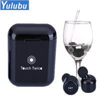 X6T TWS Wireless Bluetooth Waterproof Headset Earphone wtih 5200mAH Charger Box for Android IOS Phone