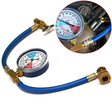 Car Air Conditioning AC R134A Refrigerant Hose Pressure Gauge Kits 600~300 PSI high quality for cars Recharge Hose Accessories цена и фото