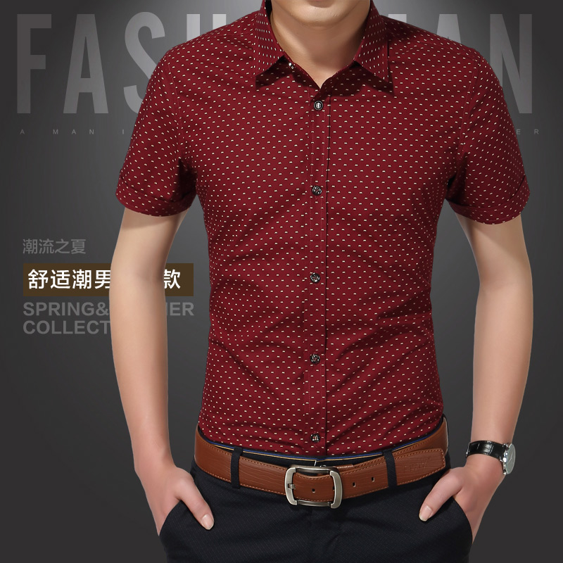 Мужская рубашка 2016 Homme 5XL
