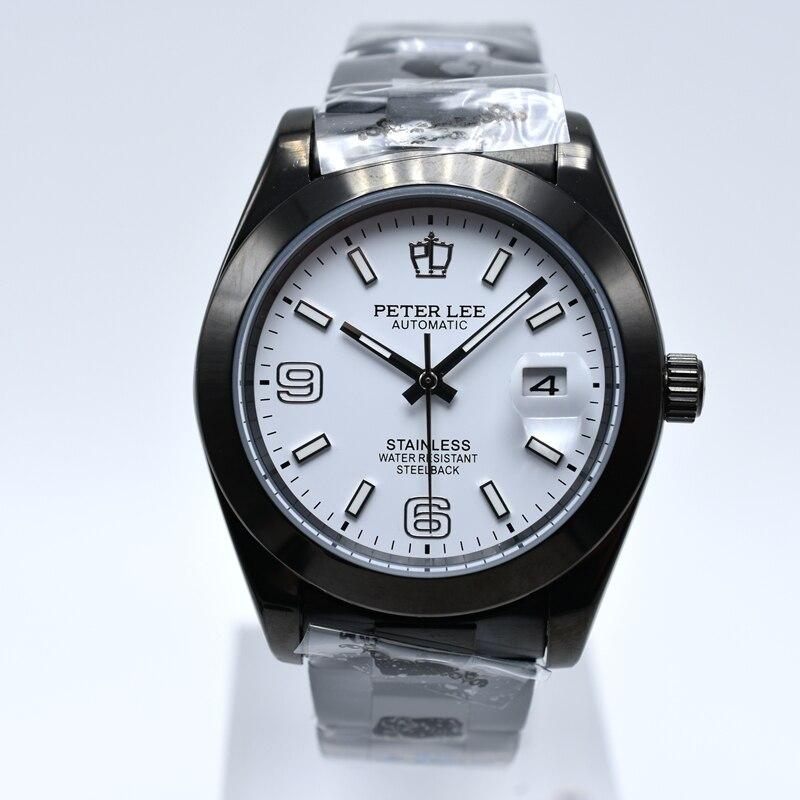 HTB1VM3AamtYBeNjSspkq6zU8VXa5 Silver Watch | Fashion PETER LEE Nautilus | Brand Luxury Full Steel Bracelet Waterproof Automatic Mechanical Business Clocks Classic Dial 38mm Mens Watch
