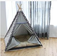 2017 Hot Cute Star Pet Tent Portable Folding Pet Tent Dog House Cage Dog Cat Tents Pet Outdoor Supplies Toy Houses For Puppies