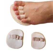Взрослых детей выправление вальгусной деформации первого пальца стопы бандаж на палец Тип молотка палец сепаратор изгиб деформации коррекции pad