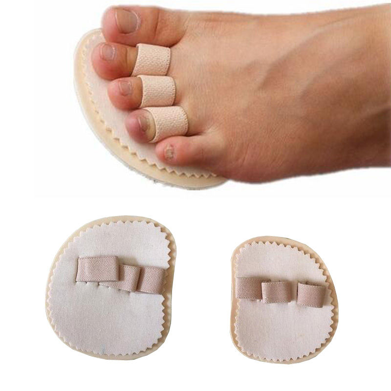 Adult Children's Hallux Valgus Orthosis Overlapping Toe Toe Hammer Type Finger Separator Bending Deformation Correction Pad
