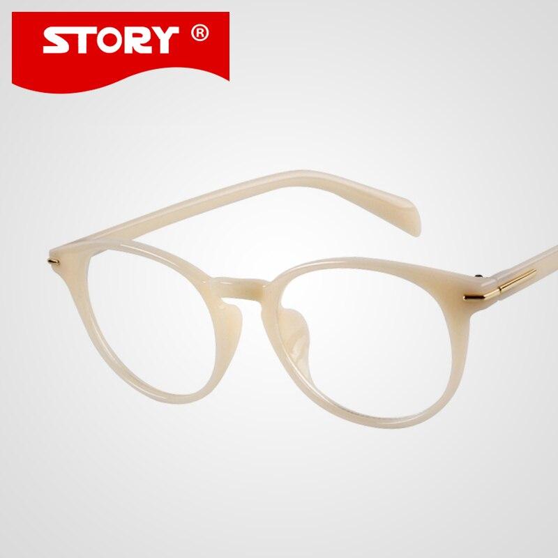 newest glasses women men white frame eyeglasses high quality optical frames eye glasses for women oculos
