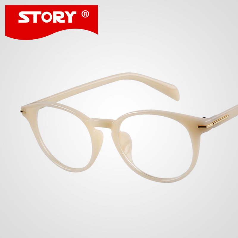 newest glasses women men white frame eyeglasses high quality optical frames eye glasses for women oculos