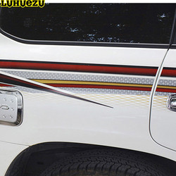 Luhuezu 3M pegatina de carrocería para Toyota Land Cruiser 200 LC200 ACCESORIOS DE 2008 2015
