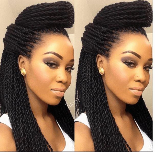 Free Shipping 1pc Senegal Twist Crochet Braid Hair Extension Long