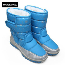 Winter Warm Casual Shoes Women Snow Boots Thick Bottom Female Footwear Pu Leather Fur Cotton Lining