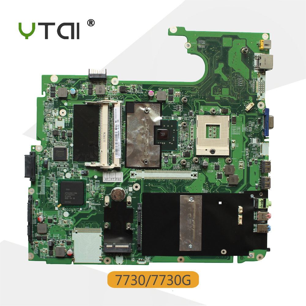 YTAI 7730 DA0ZY2MB6F1 REV:F Mianaboard for Acer Aspire 7330 7730 7730G laptop Motherboard DA0ZY2MB6F1 REV:F Mianboard все цены