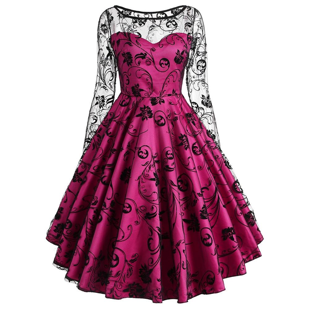 Aliexpresscom  Buy Zaful Floral Lace Vintage Dress Women -2227