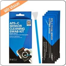 VSGO Professional APS-C Sensor Cleaning Swab Kit DDR-15 For Nikon Cameras DSLR APS-C Sensor CCD/CMOS UV Lens Filter Cleaning полезные 6pcs влажная очистка kit cmos ccd пылесос швабру для dslr камеры