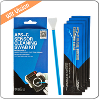 VSGO Professional APS C Sensor Cleaning Swab Kit DDR 15 For Nikon Cameras DSLR APS C