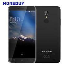 Blackview A10 Smartphone MTK6580A Quad Core 2G RAM 16G ROM 5,0 Zoll Android 7.0 WCDMA Handy Zurück Fingerprint 2800 mAh 8MP