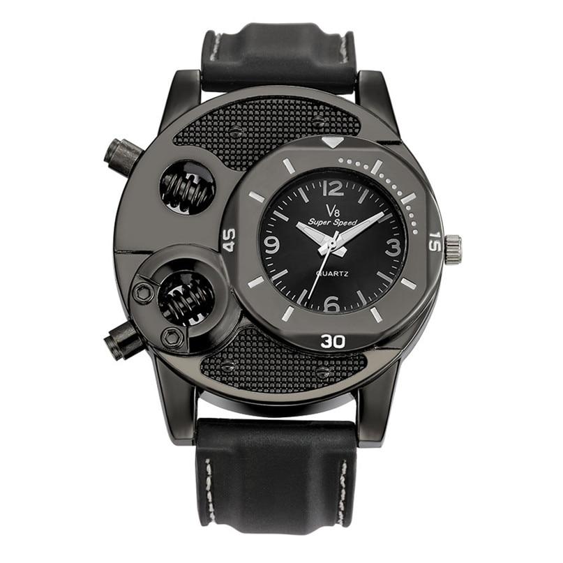 2017 Cool Sport Watch Men Casual Silicone Strap Quartz Watch Casual Men s Wrist Watches Male
