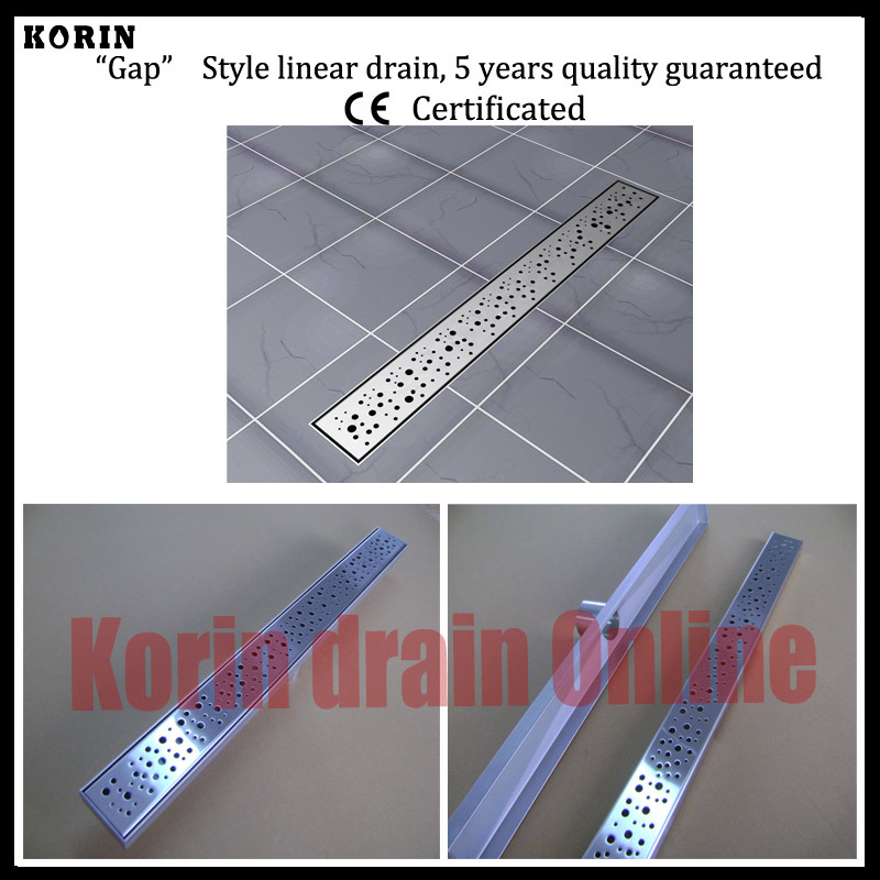 1200mm Bubble Style Stainless Steel 304 Linear Shower Drain, Vertical Drain, Floor Waste, Long floor drain, Shower channel 1200mm zipper style stainless steel 304 linear shower drain vertical drain floor waste long floor drain shower channel