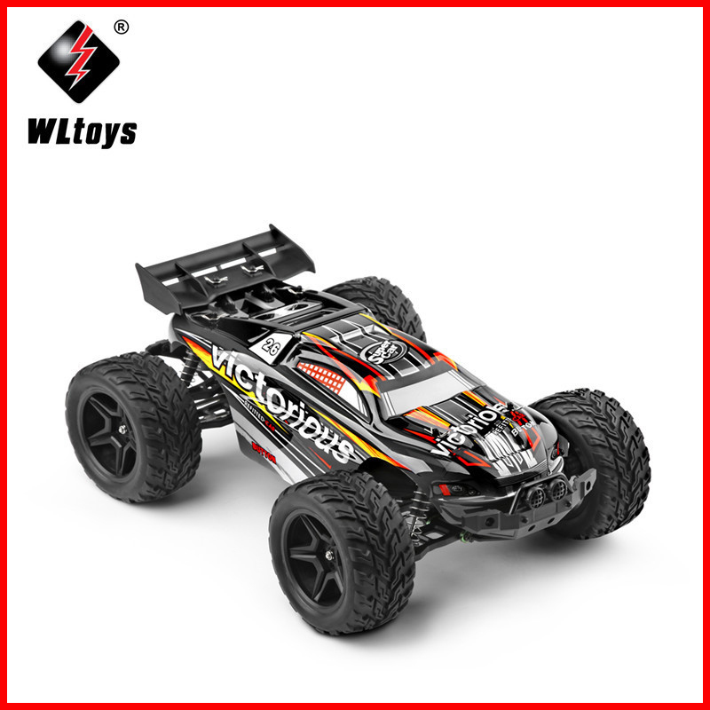 WLtoys A333 35km/h High Speed RC Competition Car 1:12 Scale Remote Control Car 4CH 2.4G 2WD Dirt Bike Toys For Children цена