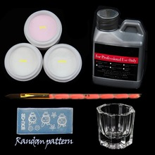 Manicure Set Acrylic Nail Kit Nail Art Tools Kit Set For Nail Set of Tools Crystal Powder Acrylic Liquid Nail Brush