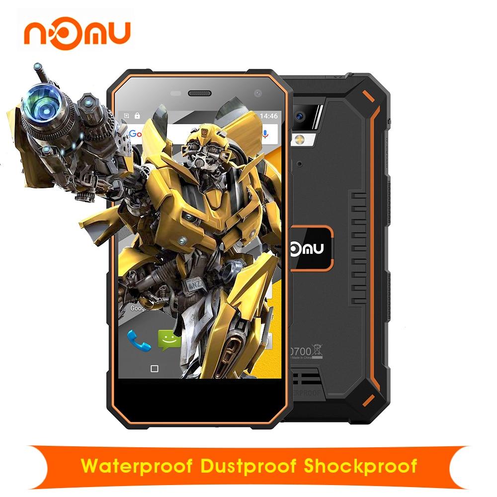 Original Nomu S10 Android 6 0 Waterproof Dustproof Shockproof 5 0 4G Smartphone 5000mAh MTK6737 Quad