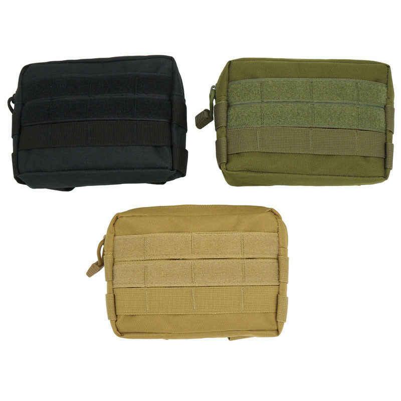 2019 Taktik Molle Kılıfı Kemer Bel paket çantası Katı Kadın Erkek Unisex Rahat Açık Spor Askeri Bel fanny paketi telefon cebi