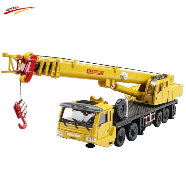 1:55 Mega Lifter Alloy Diecast Model with 4 Front Wheel Steering Linkage 360 Degree Rotate Work Platform