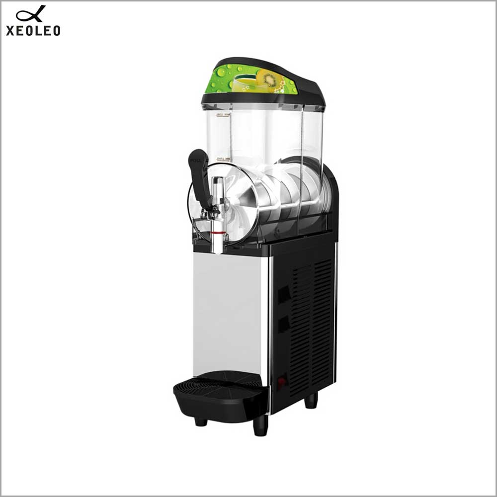 XEOLEO Slush Machine 12LSingle Jar Snow Melting Machine Smoothie Granita Machine Smoothie Maker Sand Ice Cream Maker Ice Slusher