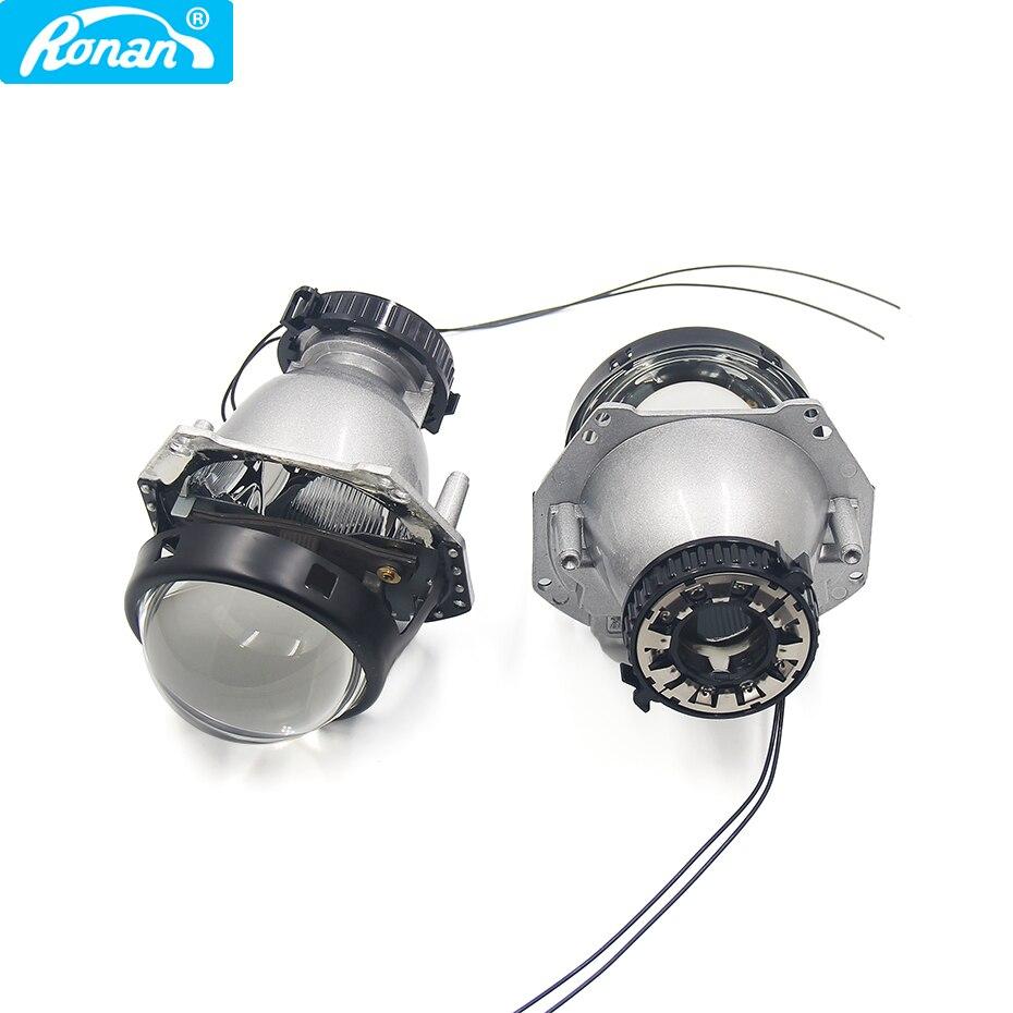 Ronan 3.0 ''lumière laser bi-xénon phares lentille hella D2S 5R G5 projecteur voiture style rénovation phares D1 D2 D3 D4 hella 5